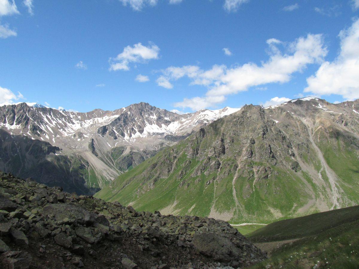 Кавказ 2019. Ущ. Ирик-чат. Стало заметно выше.