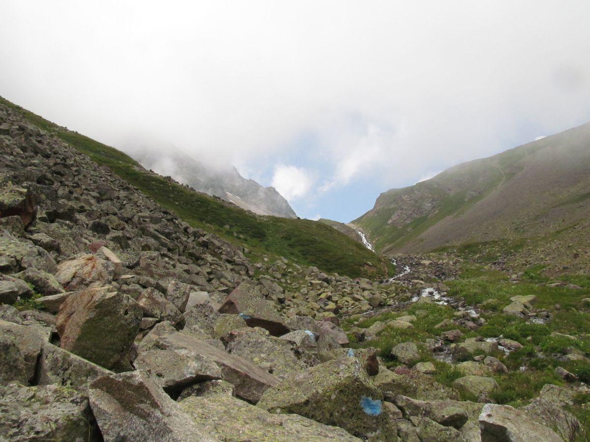 Кавказ 2019. Ущ. Сылтран-су. Вверх по ущелью.
